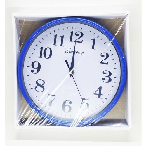 666f9565906 → Relógio De Parede Redondo Color 24cm é bom  Vale a pena