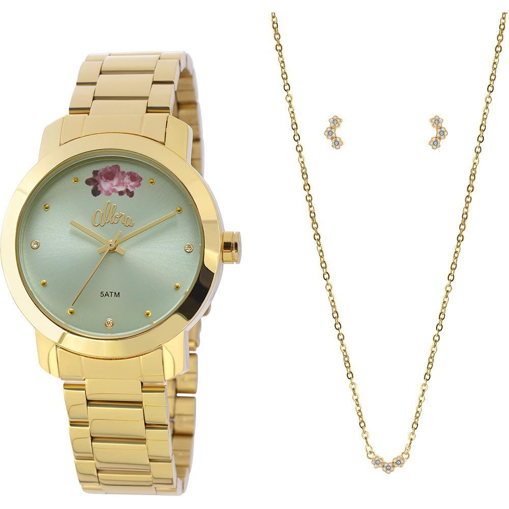 31bbbaa3918d5 Relógio Feminino Allora Analógico Fashion AL2035FAH K4A é bom  Vale a pena
