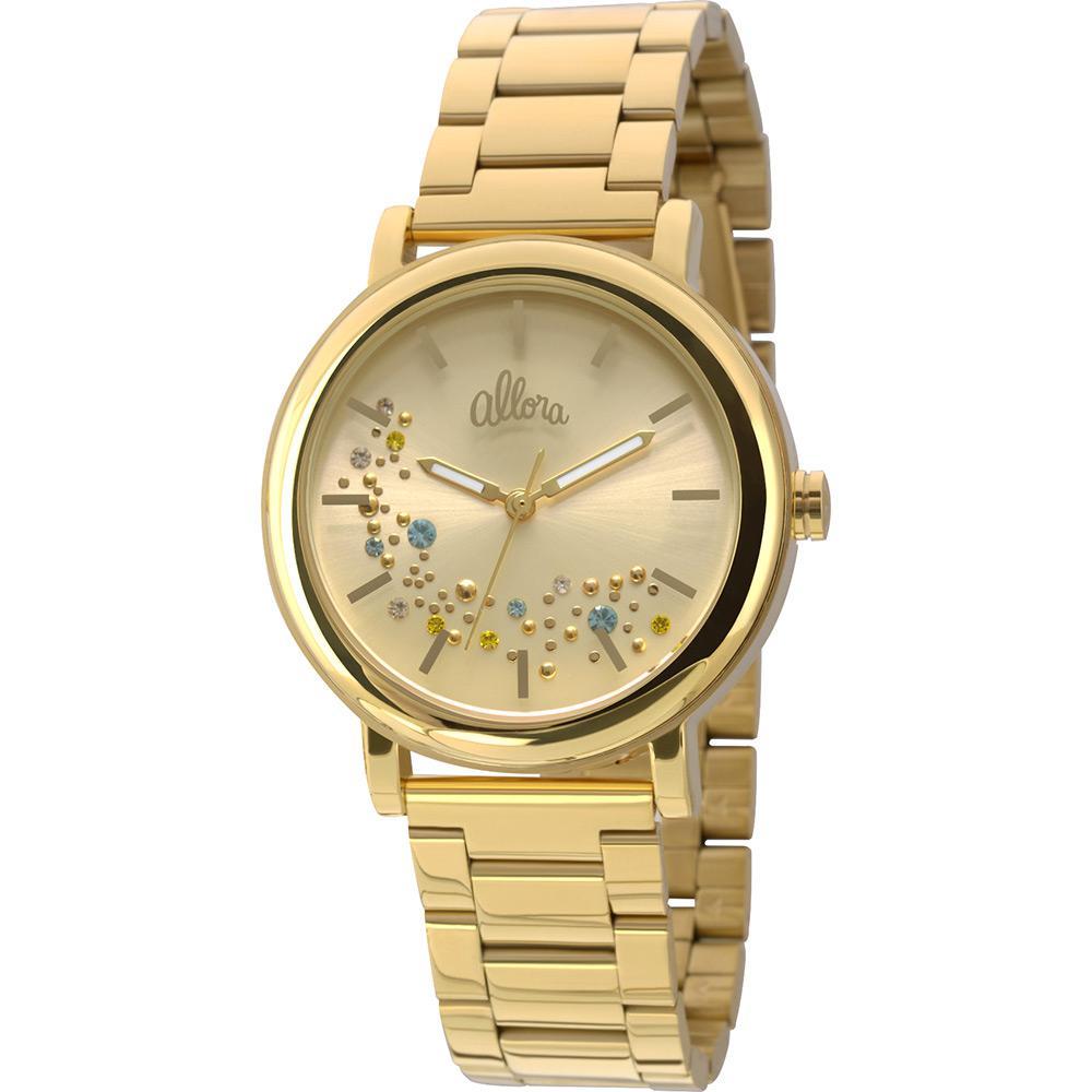 Relógio Feminino Allora Analógico Fashion AL2036CB4D é bom  Vale a pena  ae13e88eceebb