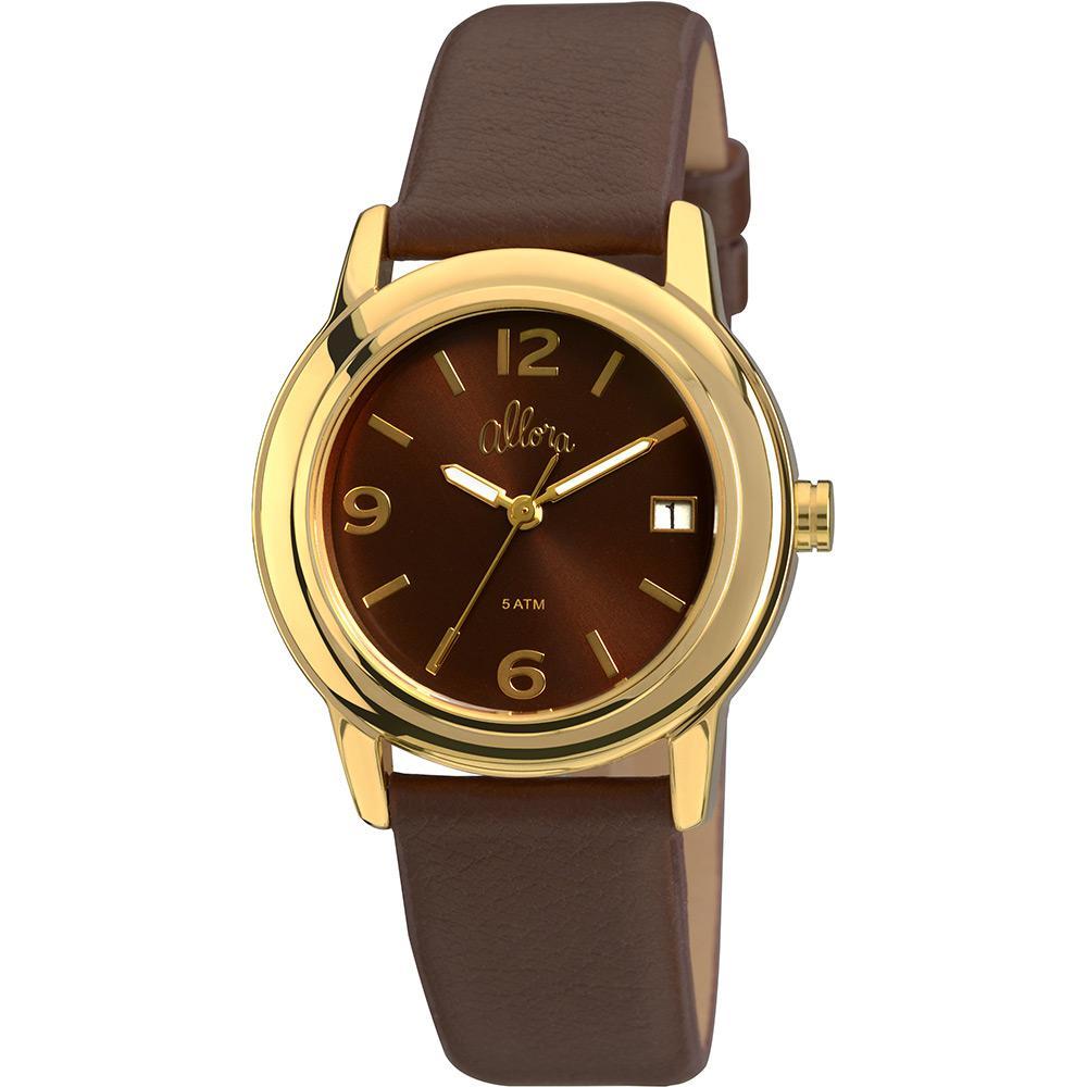 Relógio Feminino Allora Analógico Fashion Al2115ag 2m é bom  Vale a pena  69cd795c70