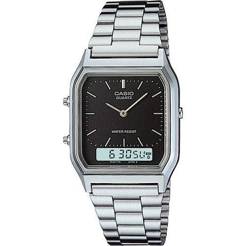 91cbd1e90ab Relógio Feminino CASIO Analógico Digital Social AQ-230A-1DMQ é bom  Vale a  pena