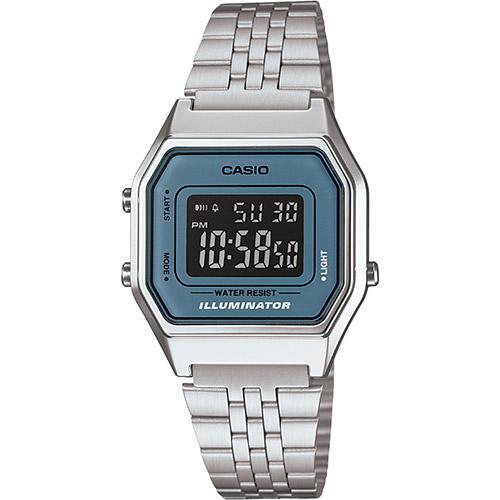 6ebf4f4f564 → Relógio Feminino Casio Digital Vintage LA680WA-2BDF é bom  Vale a ...