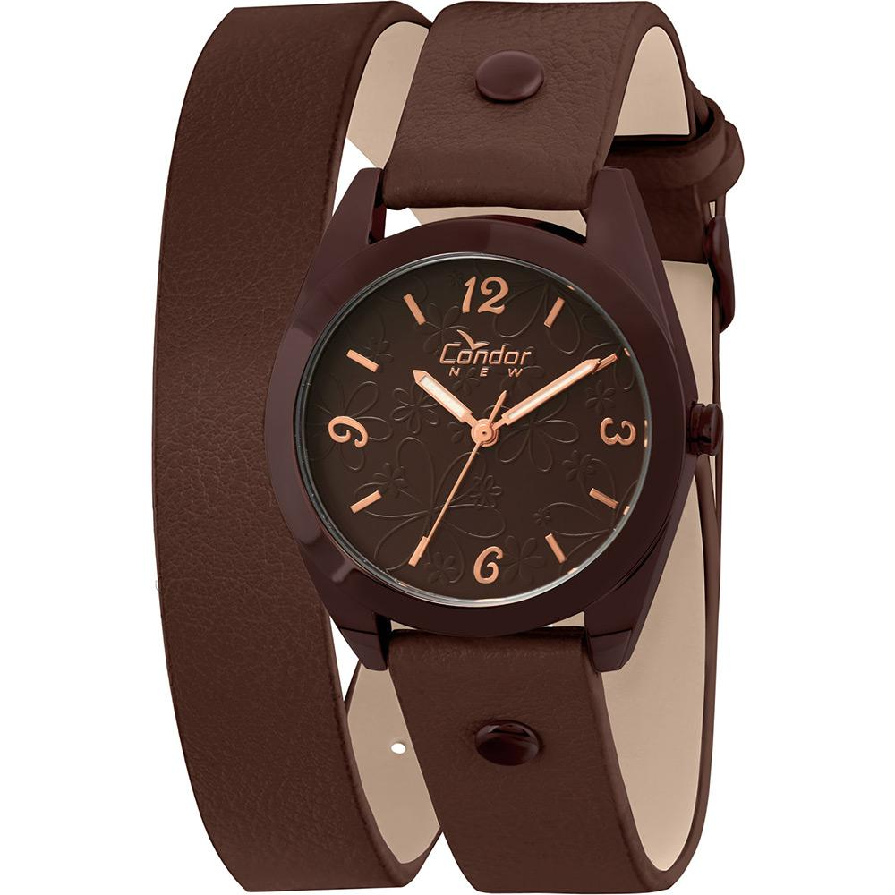 7e72f10439b Relógio Feminino Condor Analógico Fashion Coal2035ht 2m é bom  Vale a pena