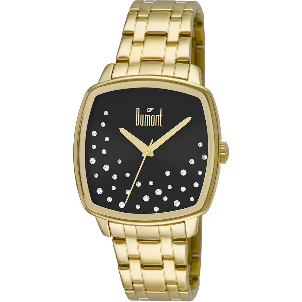 f0176946095 Relógio Feminino Dumont Analógico Fashion Du2036lss 4p é bom  Vale a pena