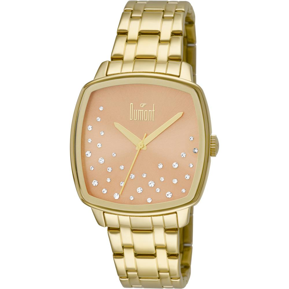 04090a46f01 Relógio Feminino Dumont Analógico Fashion Du2036lss 4t é bom  Vale a pena