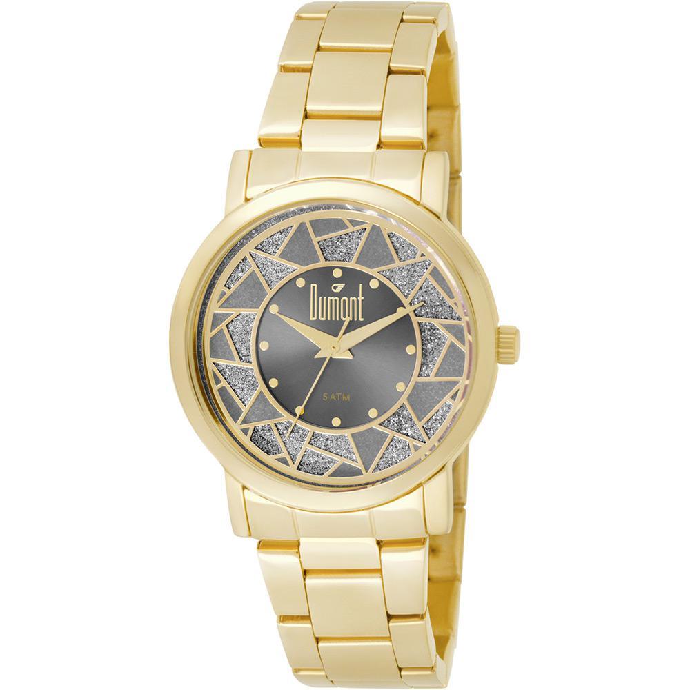 efabec3f6c7 Relógio Feminino Dumont Analógico Fashion Du2036ltn 4c é bom  Vale a pena