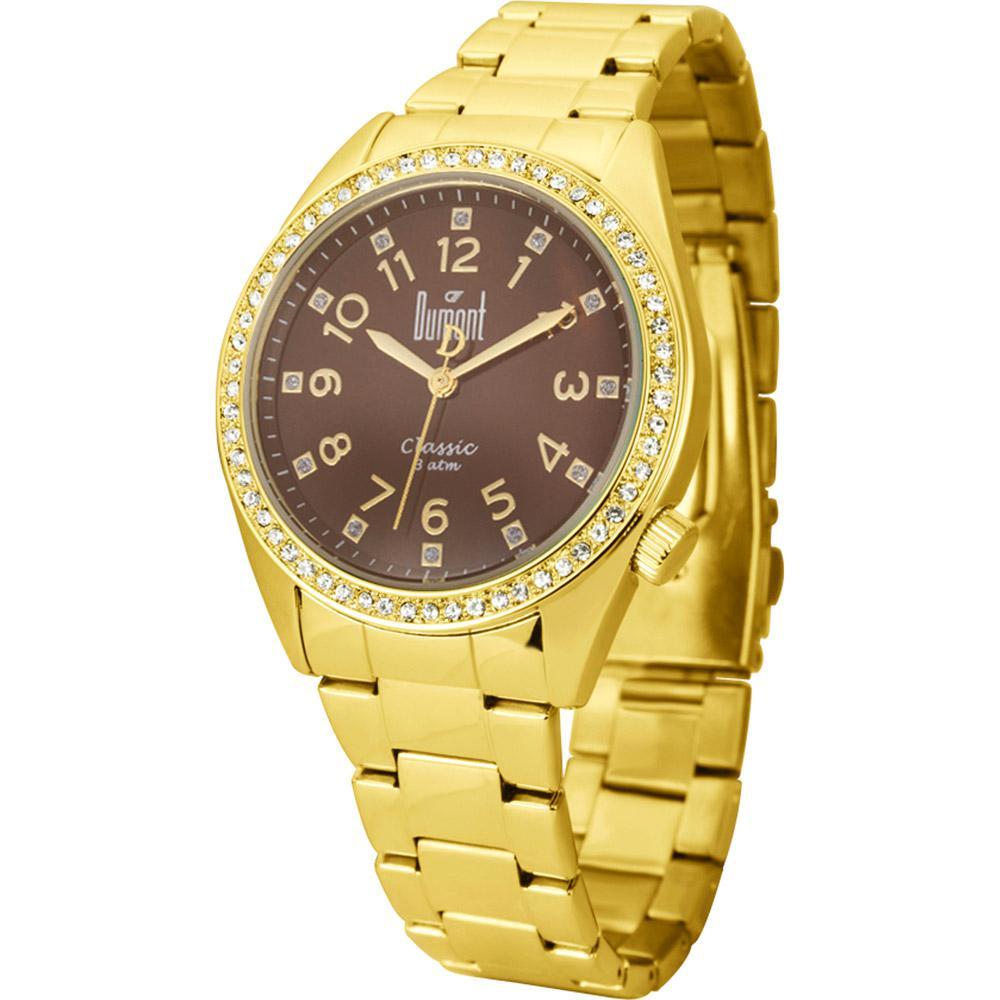 abe8e6c77d4 → Relógio Feminino Dumont Casual Analógico SW85393 R é bom  Vale a ...