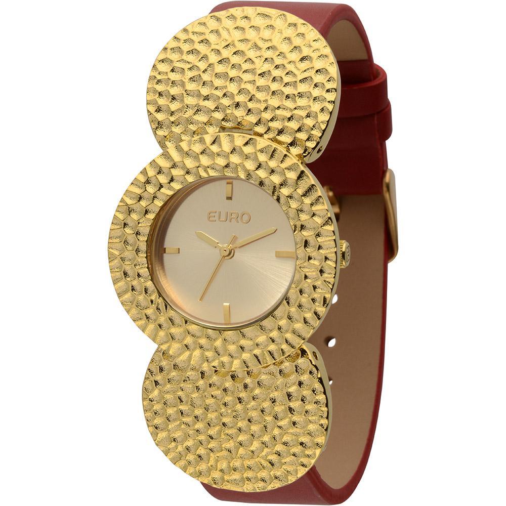 f0d420f89ca4e Relógio Feminino Euro Analógico Fashion Eu2035lrz 2r é bom  Vale a pena