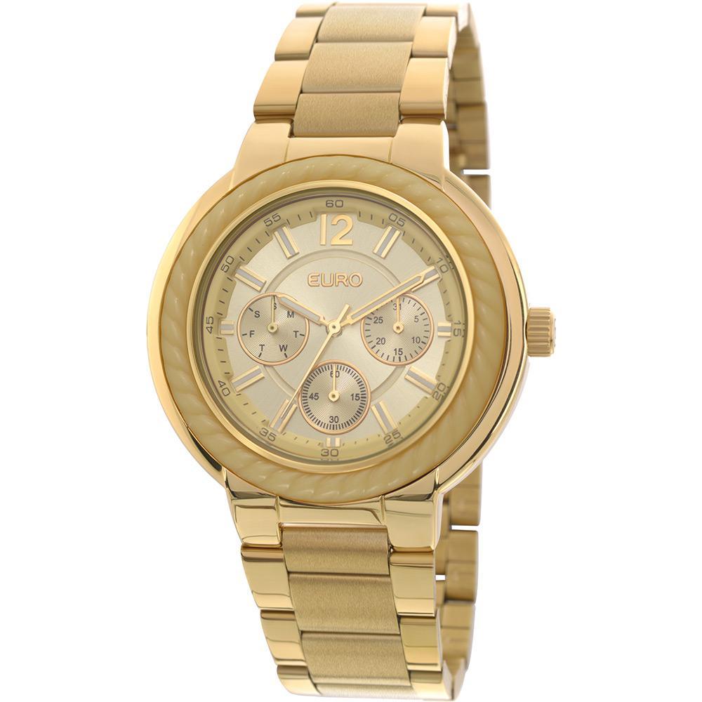 d831536bede49 Relógio Feminino Euro Analógico Fashion Eu6p29agk 4d é bom  Vale a pena