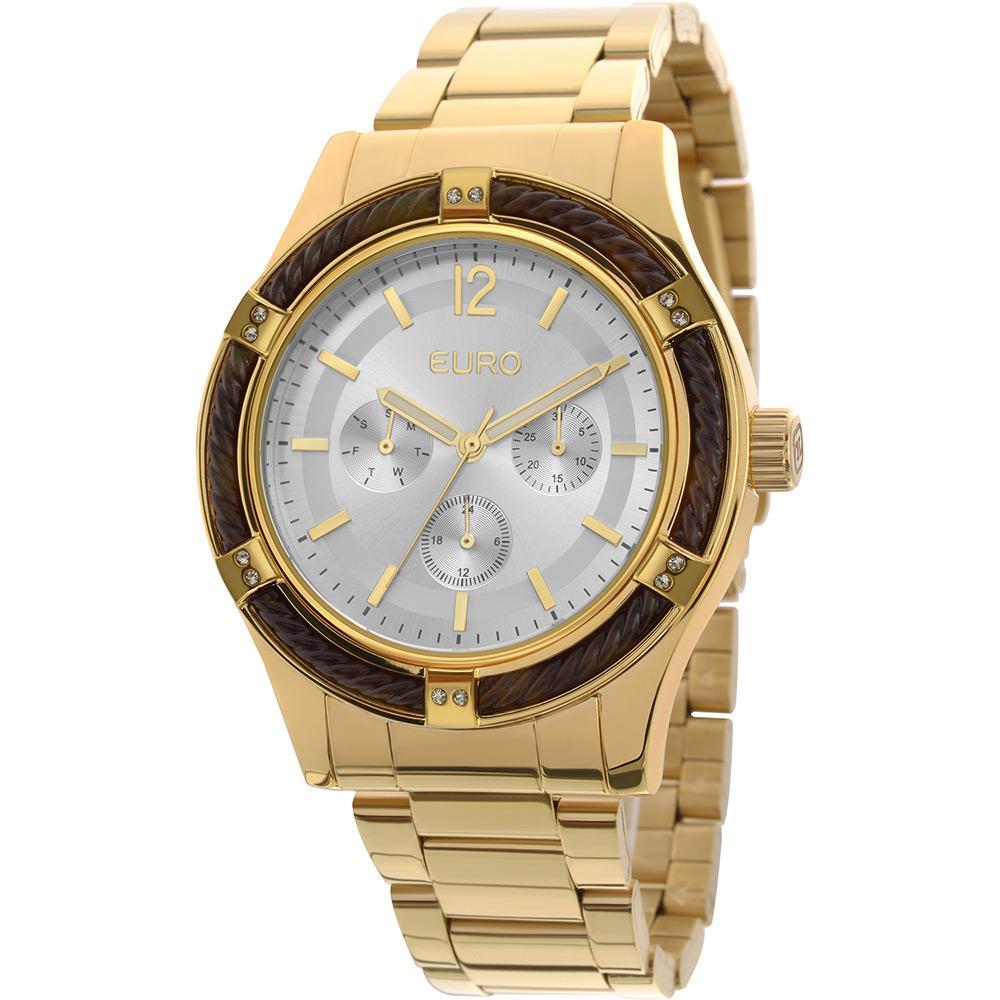 b53a1ddb2d1 Relógio Feminino Euro Analógico Fashion EU6P29AGL 4K é bom  Vale a pena