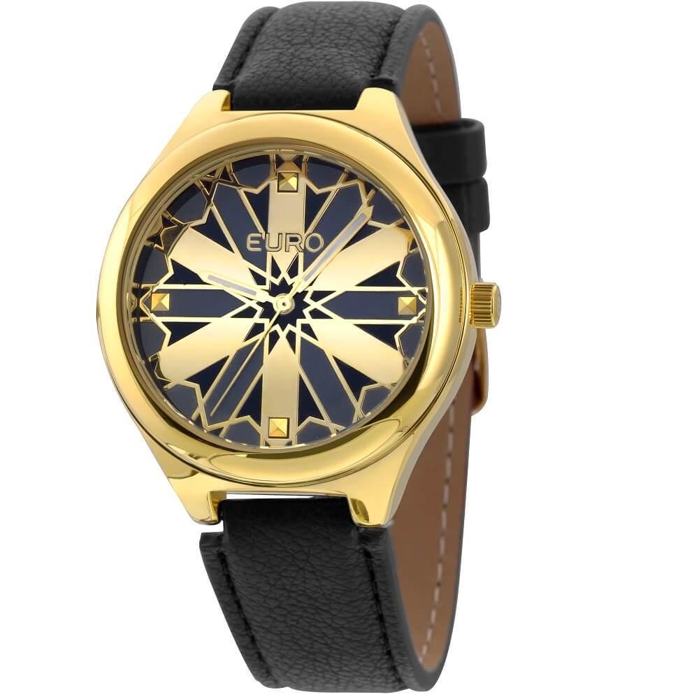 79abbb27120 → Relógio Feminino Euro Eu2035xyv 2d Vitral Dourado é bom  Vale a pena