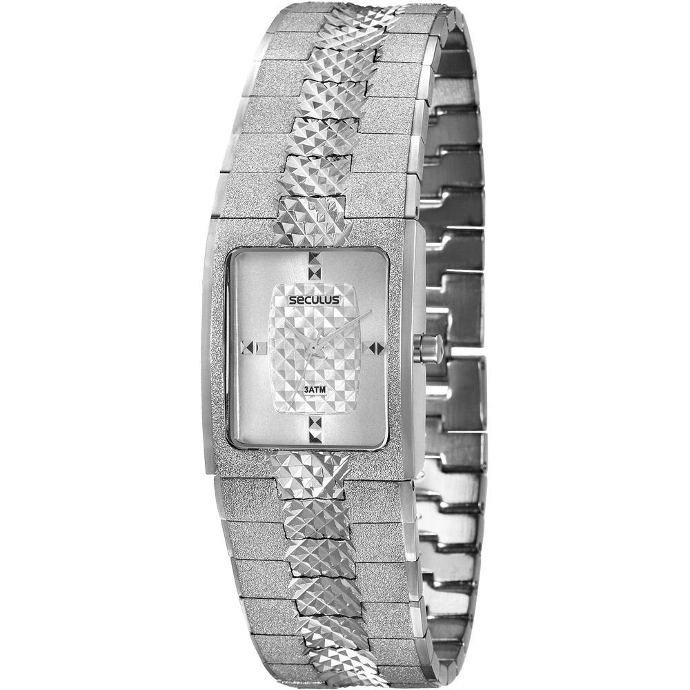 701810af376 Relógio Feminino Seculus Analógico Fashion 28385L0SVNB1 é bom  Vale a pena