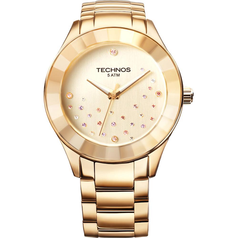 d7d38c5b6d540 Relógio Feminino Technos Analógico Casual 2036LLP 4X é bom  Vale a pena