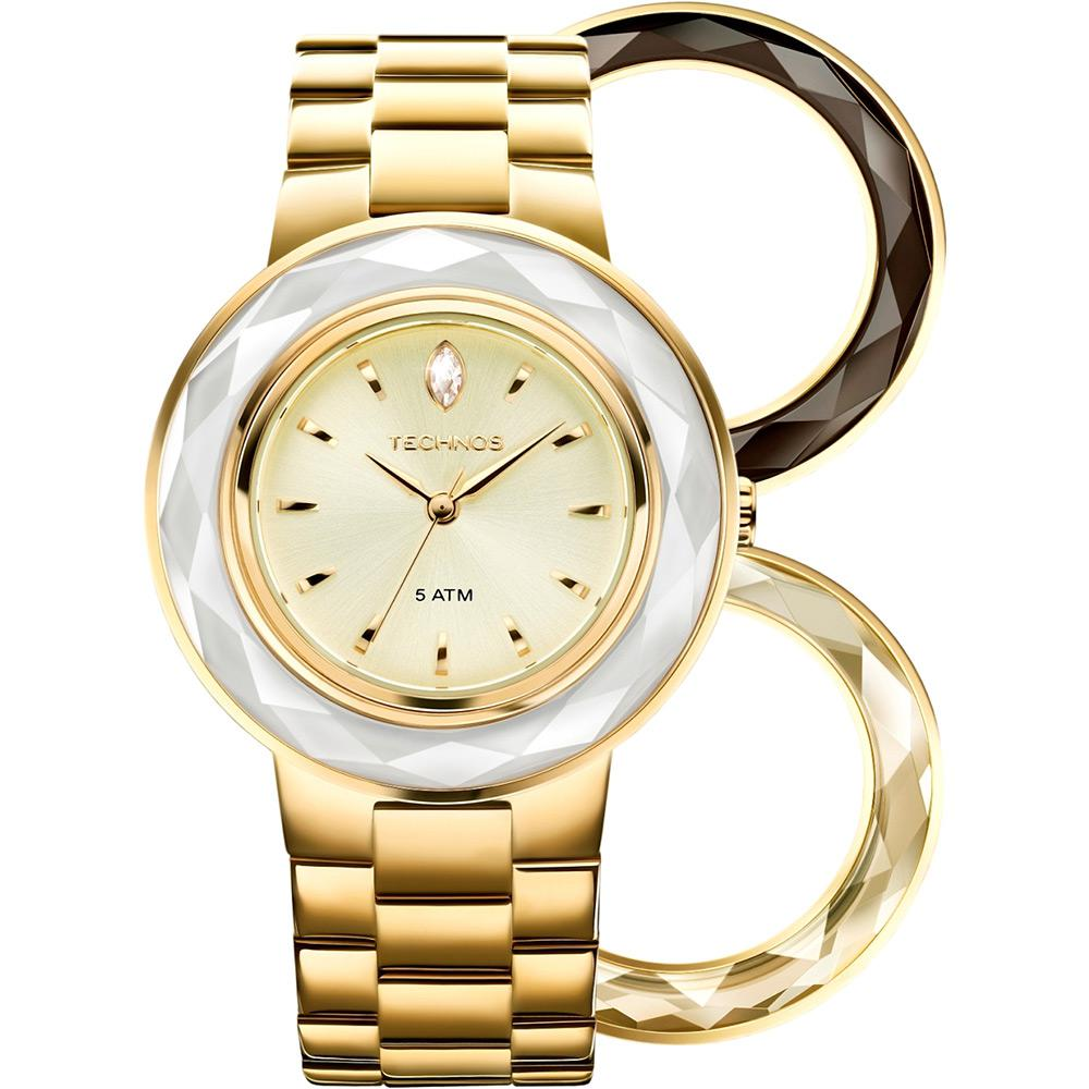 3d167d9bfd2 Relógio feminino Technos analógico fashion com Swarovski 2036LMR 4X é bom   Vale a pena
