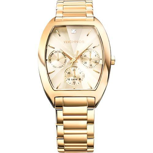Relógio Feminino Technos Analógico Multifunção Fashion Swarovski 6P29AGF 4X  é bom  Vale a pena  38e88f3fc0