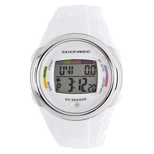 1a29334f702 → Relógio Guepardo Oe0400 Uv Master White é bom  Vale a pena