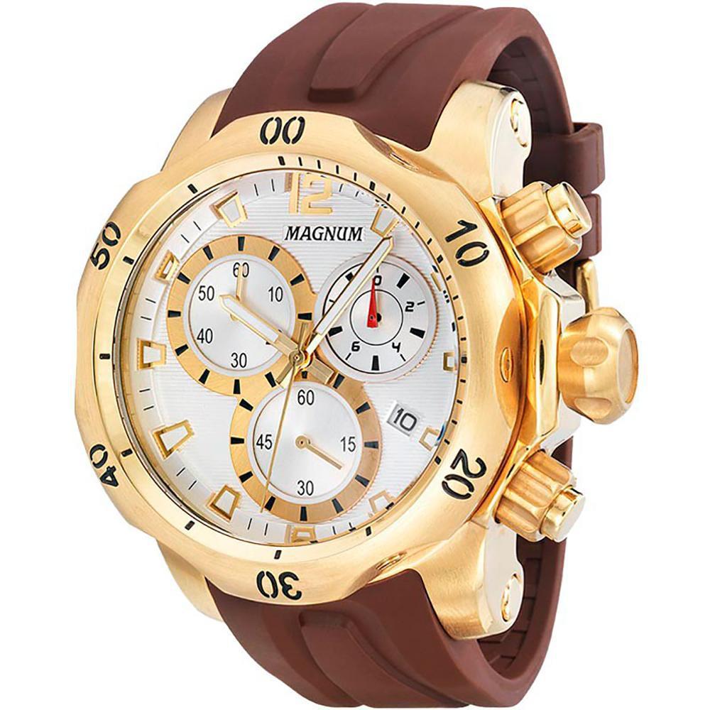 0505d677891 → Relógio Magnum Masculino Ma33755b é bom  Vale a pena