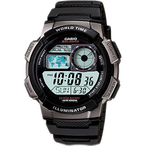 de78b125a00 Relógio Masculino Casio Digital Esportivo AE-1000W-1BVDF é bom  Vale a pena