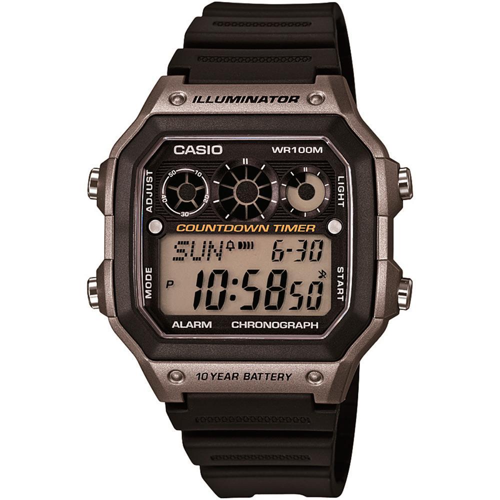 1c9f6574d21 Relógio Masculino Casio Digital Esportivo AE-1300WH-8AVDF é bom  Vale a  pena