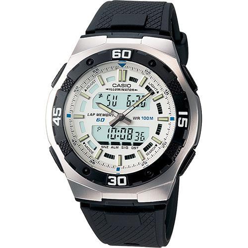60dd03cae4b Relógio Masculino CASIO Digital Social AQ-164W-7AVDF é bom  Vale a pena