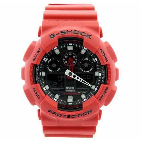 021143f6ac4 → Relógio Masculino Casio G-Shock Ga-100b-4adr É BOM  VALE A PENA