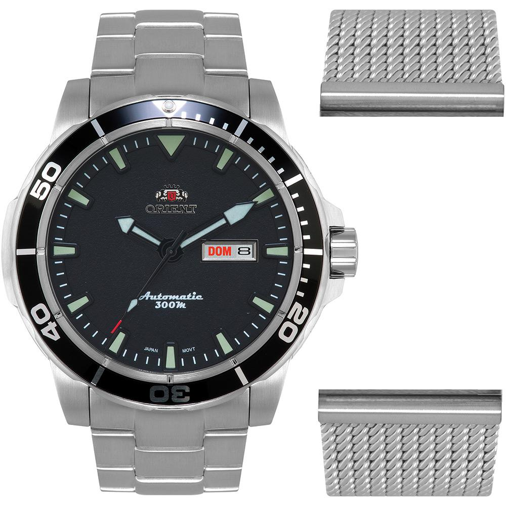 0444a9d2171 Relógio Masculino Orient Analógico Esportivo Automático 469SS053 P1SX é  bom  Vale a pena