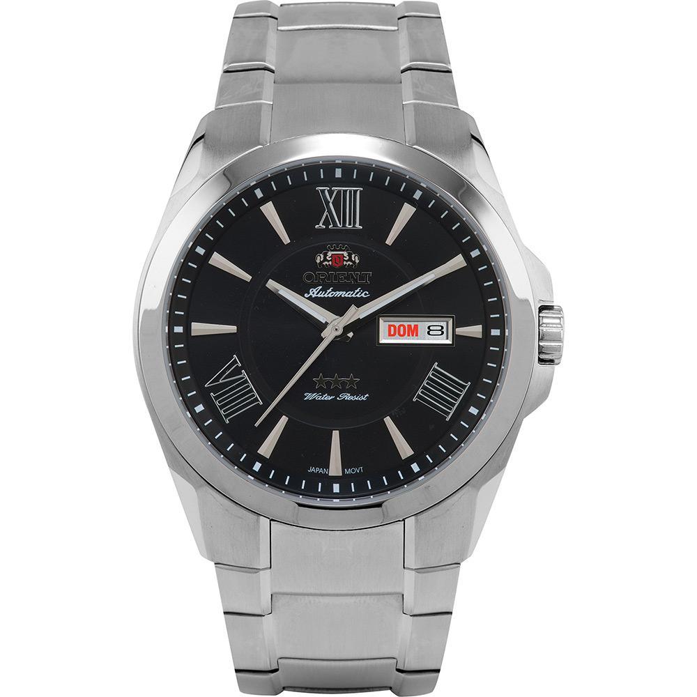 b9e4e8c1ce7 Relógio Masculino Orient Automático Prata 469SS051 P3SX é bom  Vale a pena
