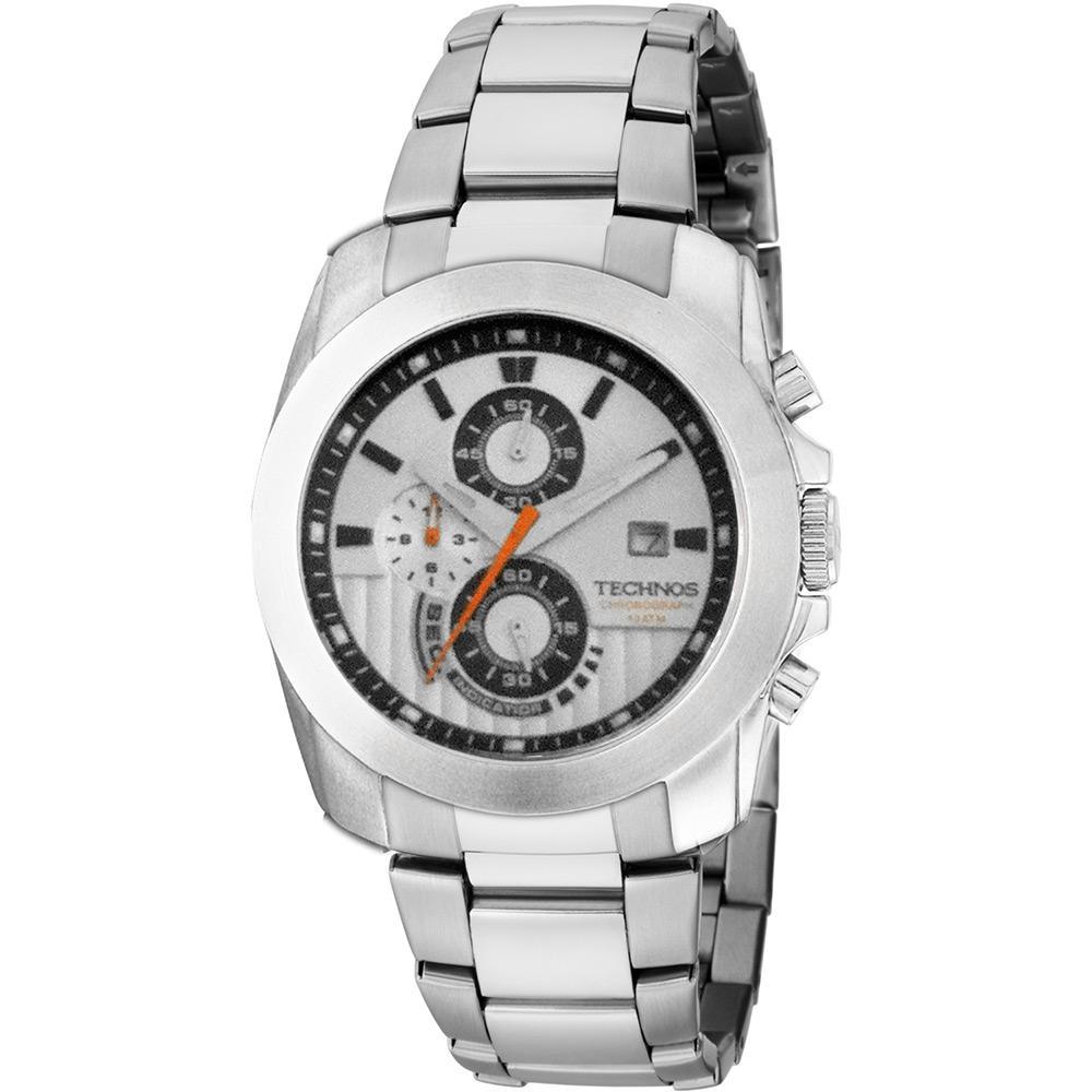 116ef2d365d Relógio Masculino Technos Cronógrafo Clássico Os10bx 1k é bom  Vale a pena