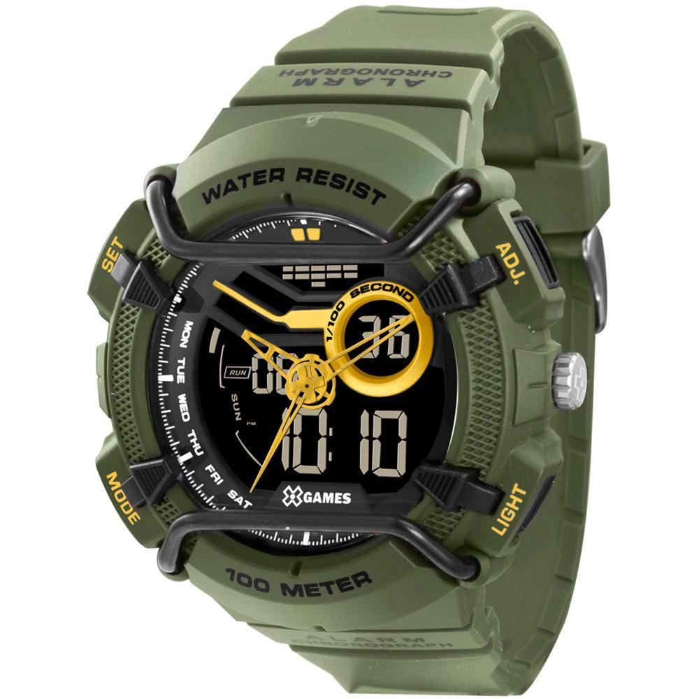 1fb3c1f90d3 Relógio Masculino X-Games Anadigi Esportivo Xmppa179 Pxex é bom  Vale a  pena