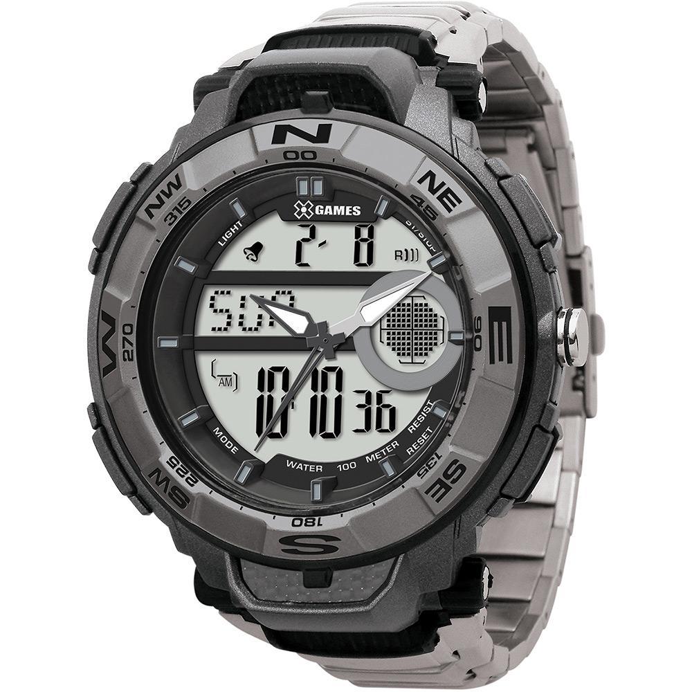 56751ceac06 Relógio Masculino X Games Analógico Digital Esportivo XMPSA012-BXSX é bom   Vale a pena