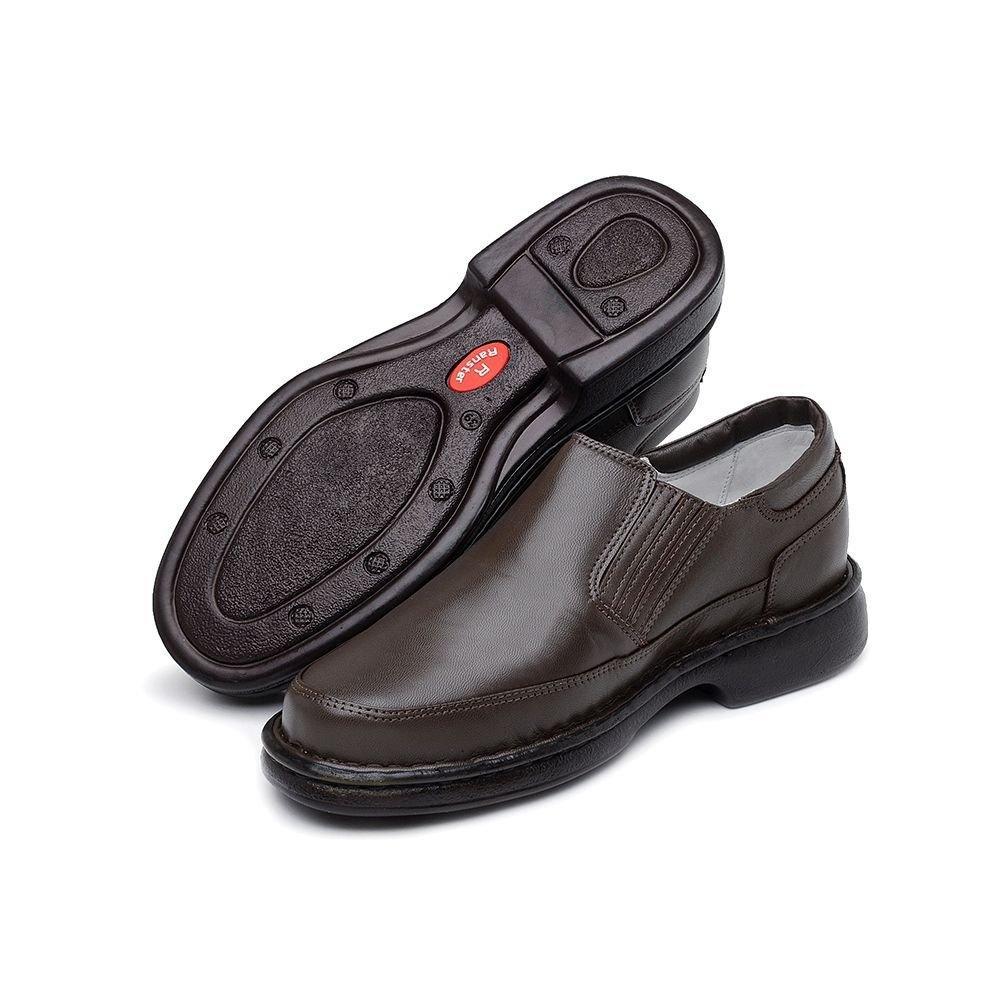 4fe35e844 Sapato Conforto Masculino Preto Ou Marrom Ranster é bom? Vale a pena?