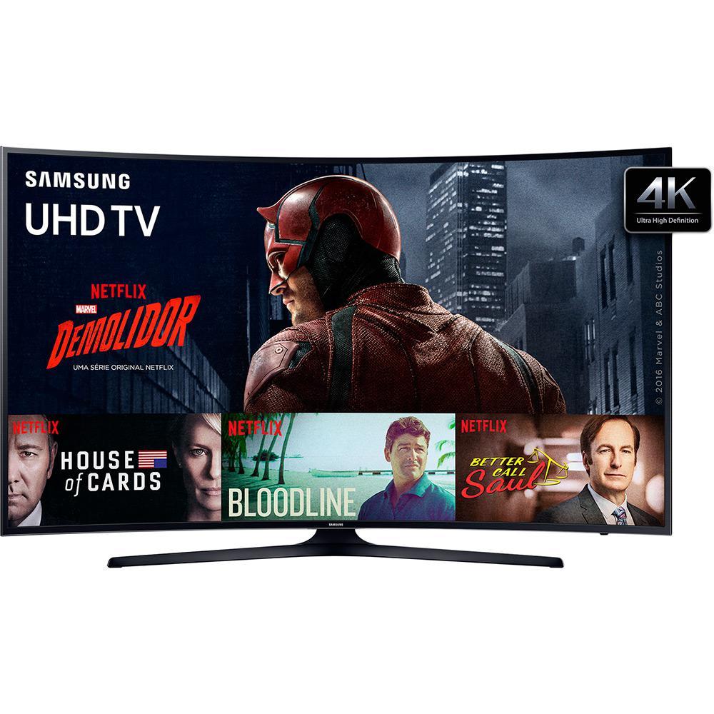 690f5ba4a Smart TV LED Tela Curva 49
