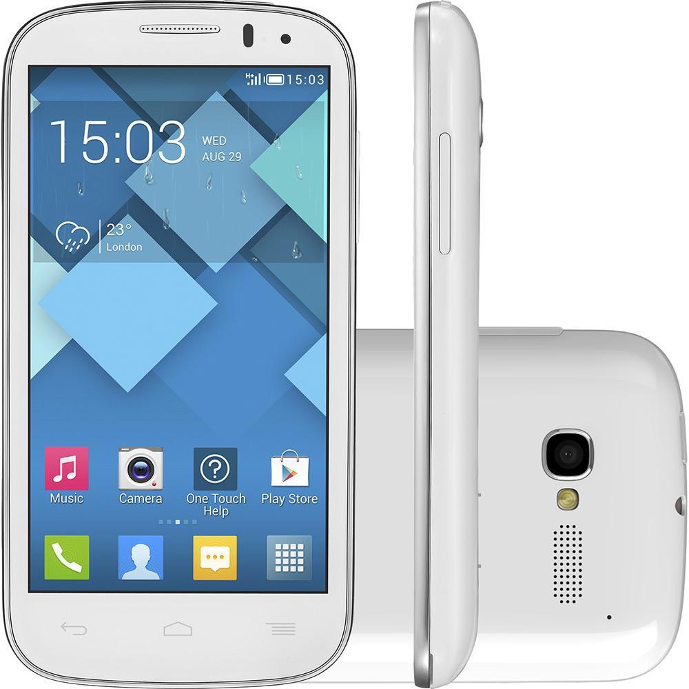 a1ff1f9f4df Smartphone Alcatel OT-5037E Pop C5 Dual Chip Android Tela 4.5