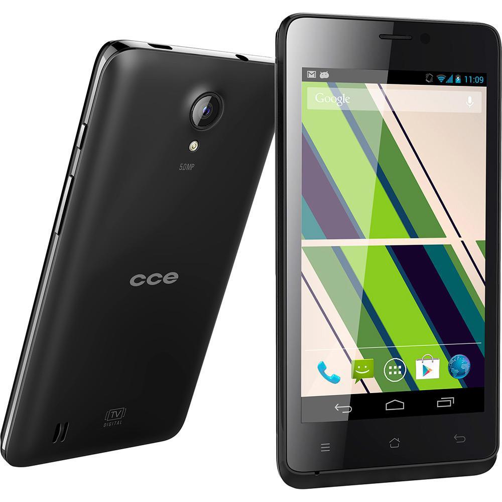 cedccb7ec Smartphone CCE SC452TV Dual Chip Desbloqueado Android 4.2 Tela 4.5