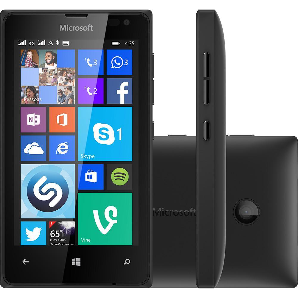fc280e9ef4e5d Smartphone Microsoft Lumia 435 Dual Chip Desbloqueado Windows Phone 8.1  Tela 4