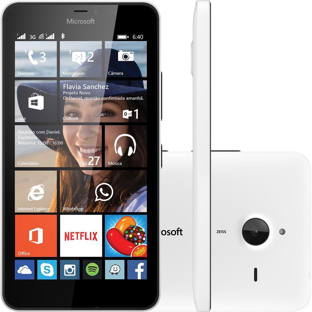 6406ade8099 Smartphone Microsoft Lumia 640 XL Dual Chip Desbloqueado Windows Phone 8.1  Tela 5.7