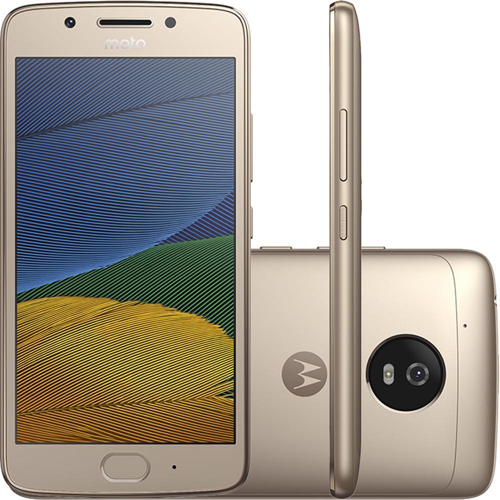 50813b9043 Smartphone Moto G 5 Dual Chip Android 7.0 Tela 5