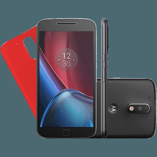 8802d80a02e Smartphone Motorola Moto G4 Plus Dual Chip Android 6.0 Tela 5.5   32GB  Câmera 16MP