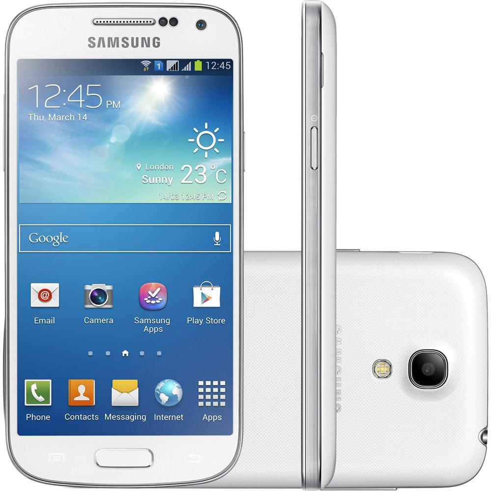 9eae5012b Smartphone Samsung Galaxy S4 Mini Duos Dual Chip Desbloqueado Android 4.2  Tela 4.3