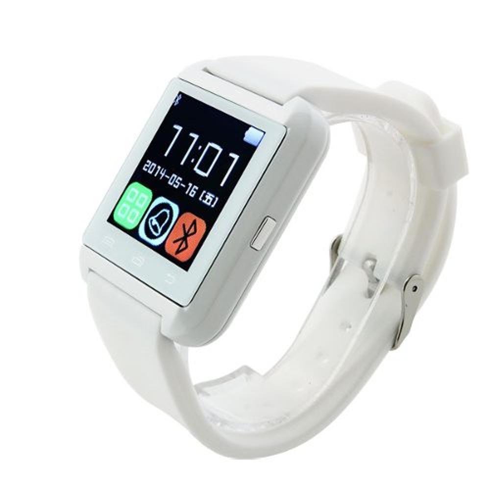 9c54ae34292 Smartwatch U8 Branco Relógio Inteligente Bluetooth Android Iphone é bom   Vale a pena