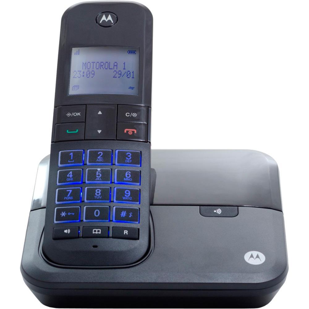 48759c31b Telefone Digital sem Fio Moto 6000 com Identificador de Chamadas - Motorola  é bom? Vale