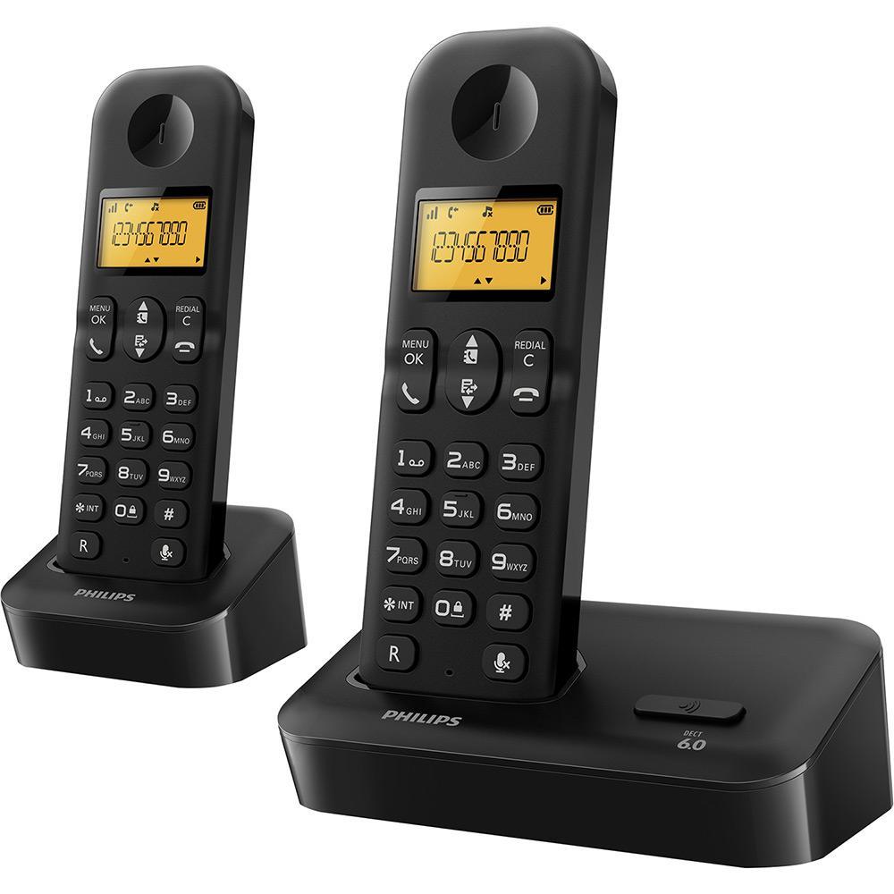 c6ca21d8b Telefone Sem Fio com ramal Philips Preto D1502B/BR com Identificador de Chamadas  é bom? Vale a pena?