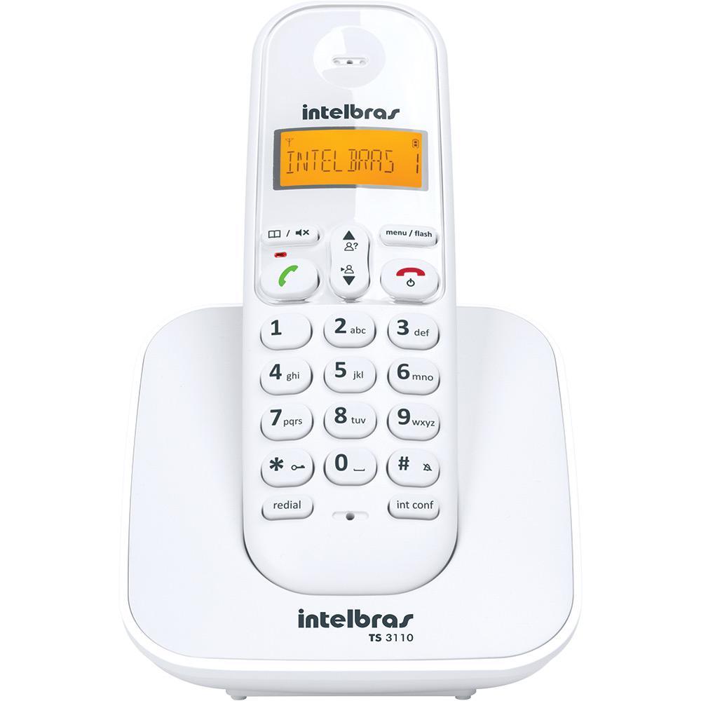3b5a606cb6 → Telefone sem Fio Digital Intelbras TS3110 é bom  Vale a pena