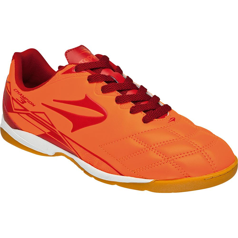 7b9f30d2f8 → Tênis Topper Indoor Champion III - Laranja Vermelho é bom  Vale a ...