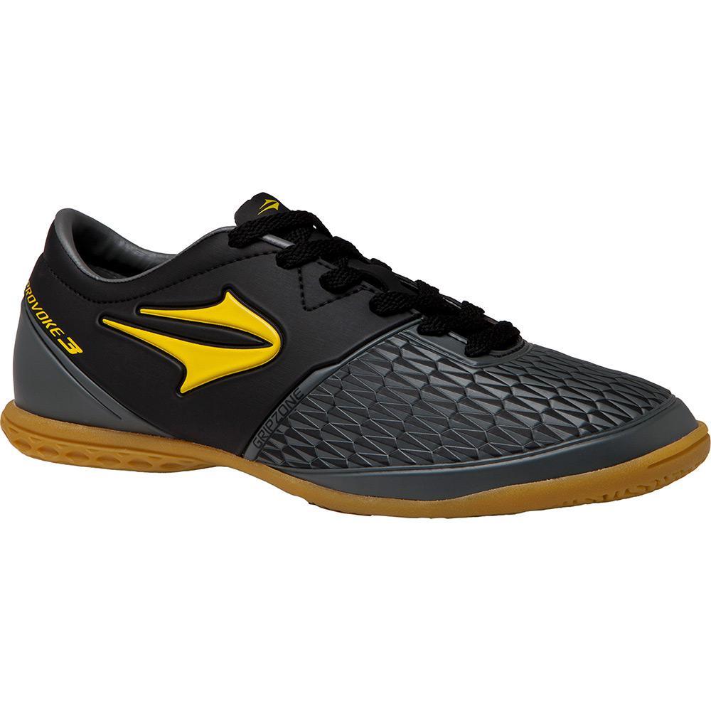 → Tênis Topper Indoor Provoke III Preto Amarelo Cinza é bom  Vale a ... 8742c52844785