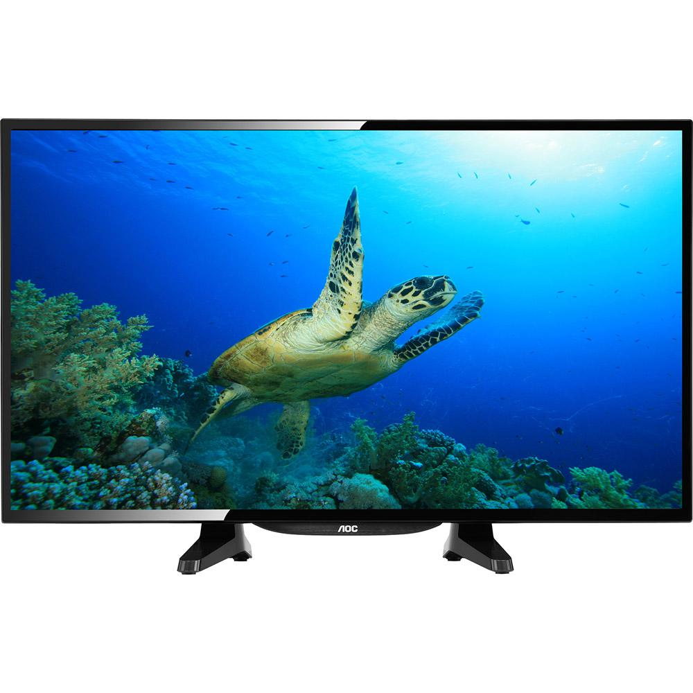 8045648f7133b TV LED 32   AOC LE32H1461 HD com Conversor Digital 2 HDMI 1 USB 60Hz é bom   Vale a pena